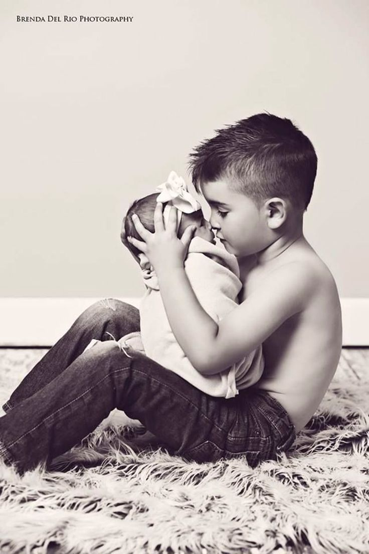 Sibling and Newborn Session | Ideias de como tirar fotos de bebê – parte 2-4