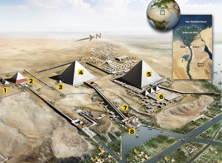 Complexo das pirâmides de Gizé