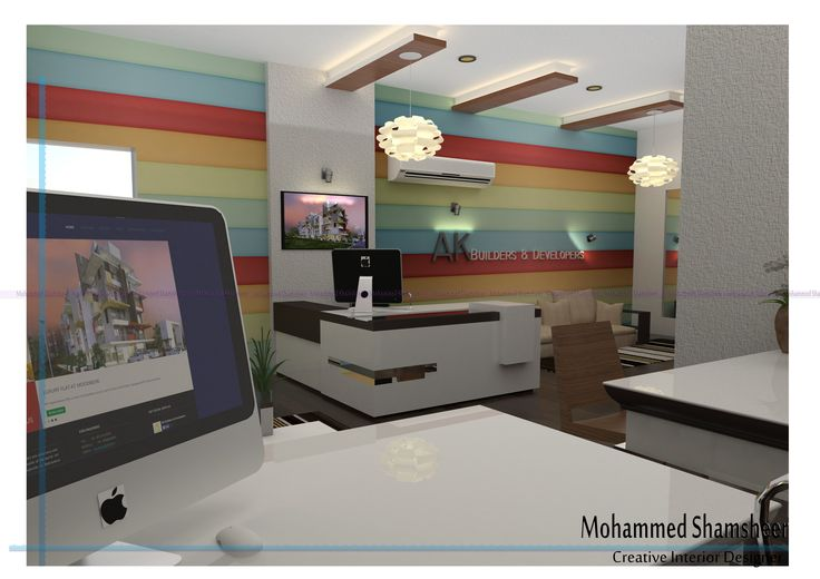 Its a Office with modern style