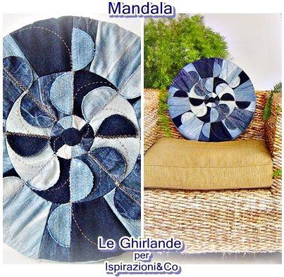 Le Ghirlande: Mandala di jeans