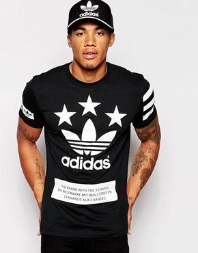 adidas longline t shirt mens