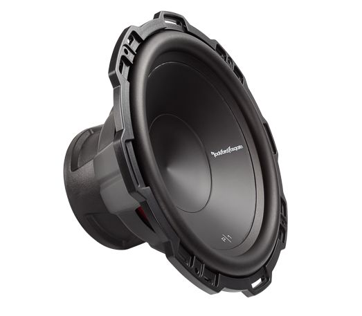 """P1S2-12 12"""" Punch P1 2-Ohm SVC Subwoofer.  Rockford Fosgate P1 12"""" is the first in a family of famous """"Punch"""" subwoofers. The P1S2-12 features a 2-Ohm voice coil, 250 Watts RMS power handling, and can accommodate a grille insert using the included soft touch ABS trim ring."""