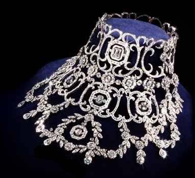 Diamond Necklace, 1905, Cartier, made for Queen Alexandra of Great Britain in 1905 (1844-1925)