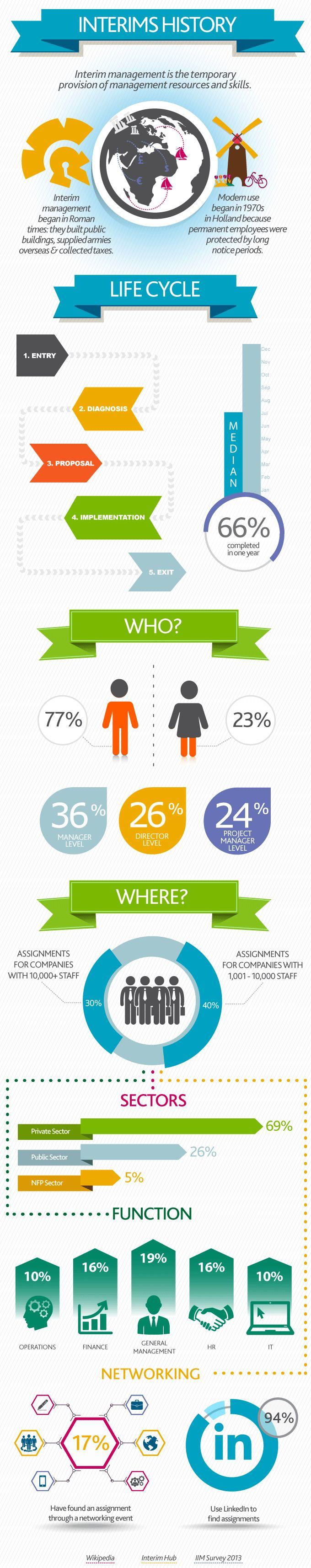 Interim Management Infographic - Capita PLC