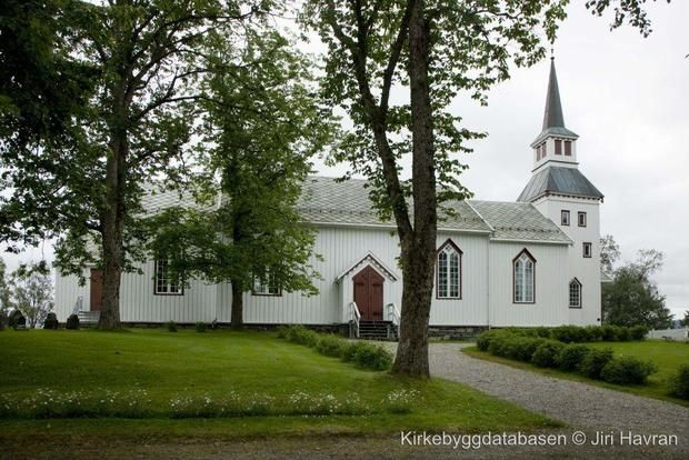 The church I was christened and married in. Namdalseid.