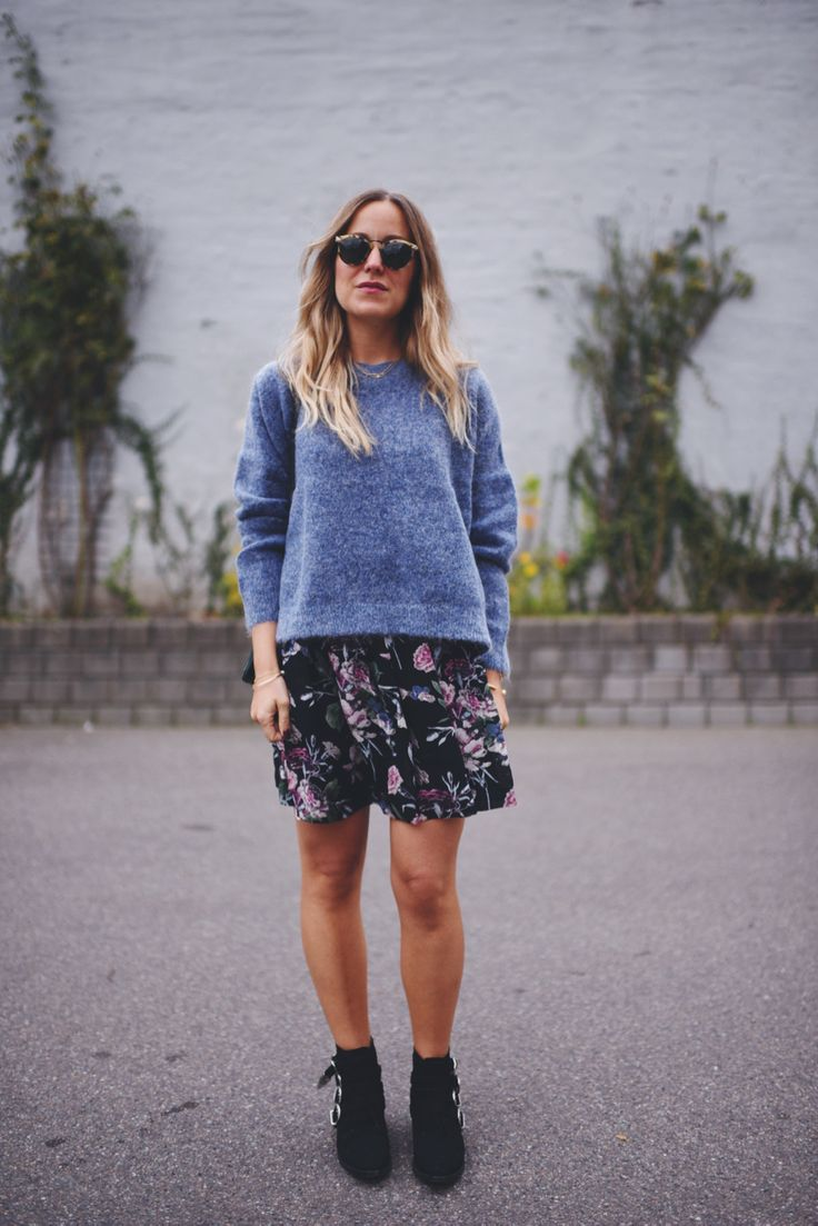 Cool Danish blogger Emily Salomon wearing Ozar Blouse from STORM & MARIE fall 2016