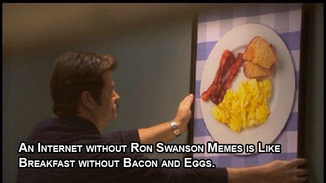 Ron Swanson memes