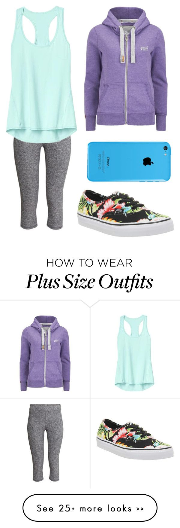 """""""Casual!"""" by madeleineunicorn on Polyvore featuring H&M, Athleta, Superdry and Vans"""