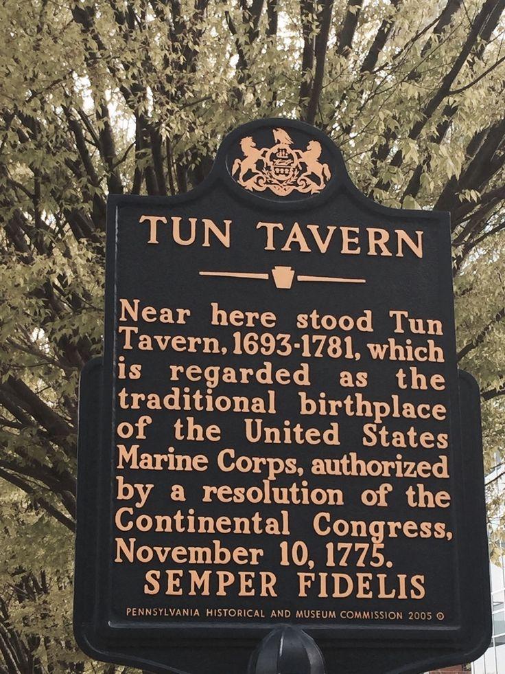 Tun Tavern - Birthplace of the U.S. Marine Corps - Center City East - Philadelphia, PA