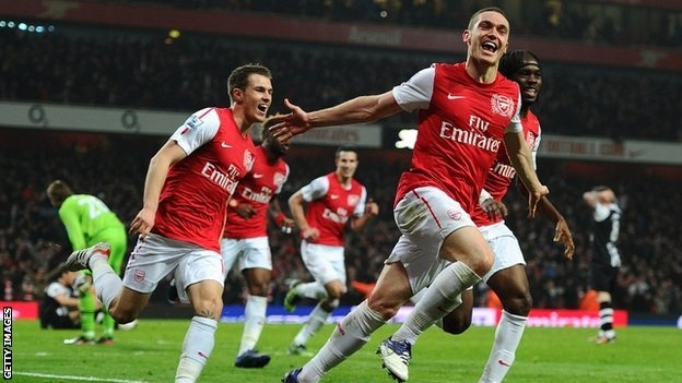 The Day Arsenal became the only team in PL History to win four games in a row after coming from behind. #ComebackKings