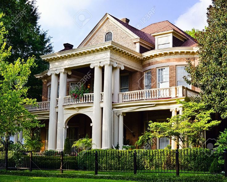 17 best images about southern homes on pinterest for Southern architectural styles