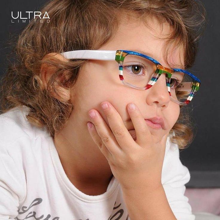 Ecco una delle grandi novità UltraLimited! Da quest'anno anche per i più piccoli montature all'insegna del colore, dell'unicità ed dell'artigianalità  #UltraLimited #colors #eyewear #kids #occhialibambini #glasses #emporioocchialifardin
