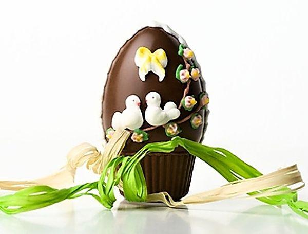 Nepečená velikonoční vajíčka