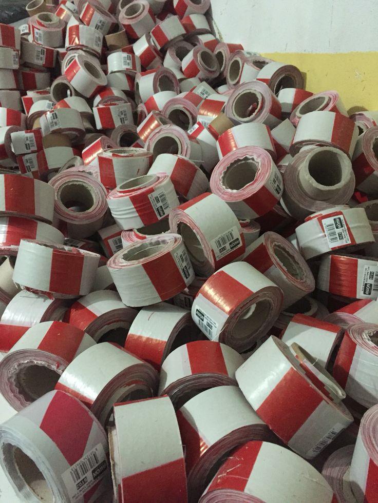 Safety warning tape