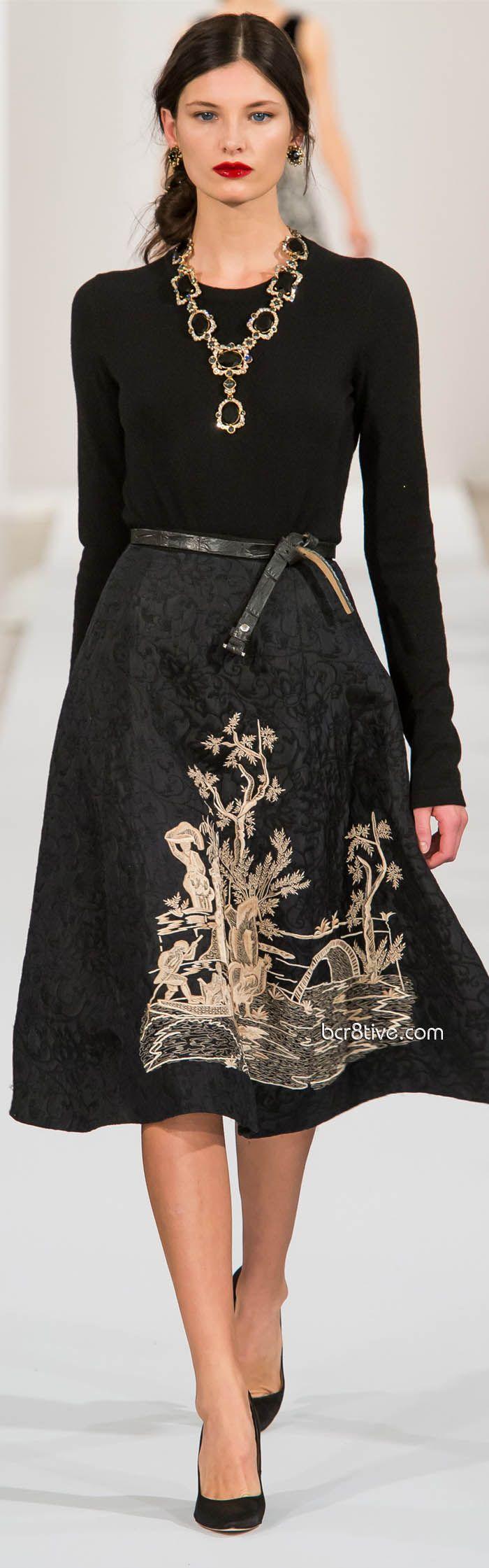Oscar de la Renta Fall Winter 2013 New York Fashion Week