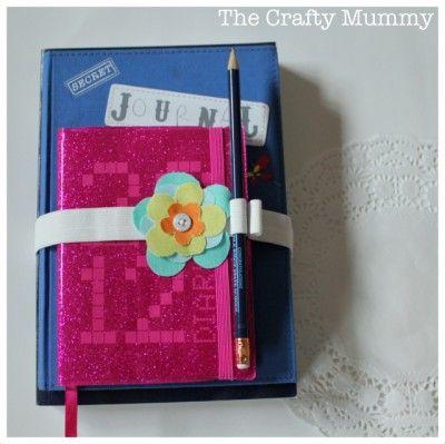 Book Strap Tutorial - The Crafty Mummy