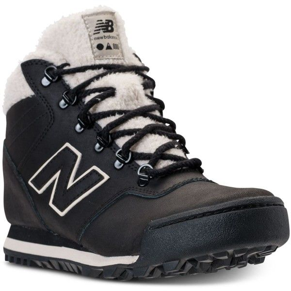 New Balance Women's 701 Outdoor Sneaker Boots from Finish Line (330 BRL) ❤ liked on Polyvore featuring shoes, boots, black, black shoes, kohl shoes, new balance shoes, new balance footwear and new balance boots