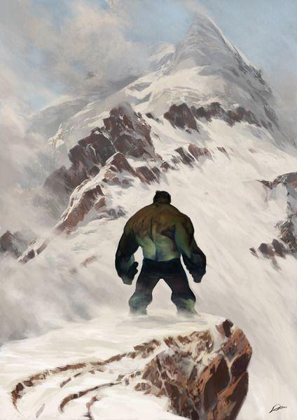 The Hulk (Solitude) by AlexanderLozano