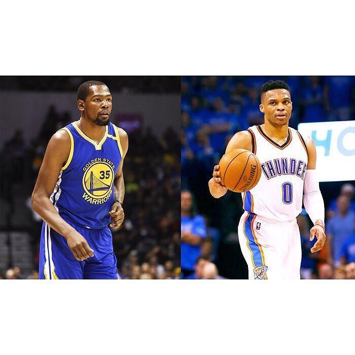 He played in 641 games with the Thunder. Scored 17556 points. Grabbed 4518 rebounds. Dished out 2363 assists. Tonight he plays his first game against the Thunder. Who you got? #repre23nt #kevindurant #repr35ent #russellwestbrook #donthatethebrodie #game0ver