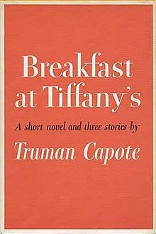 """Breakfast at Tiffany's"" by Truman Capote.  http://www.amazon.com/Breakfast-at-Tiffanys-Three-Stories/dp/0679745653"