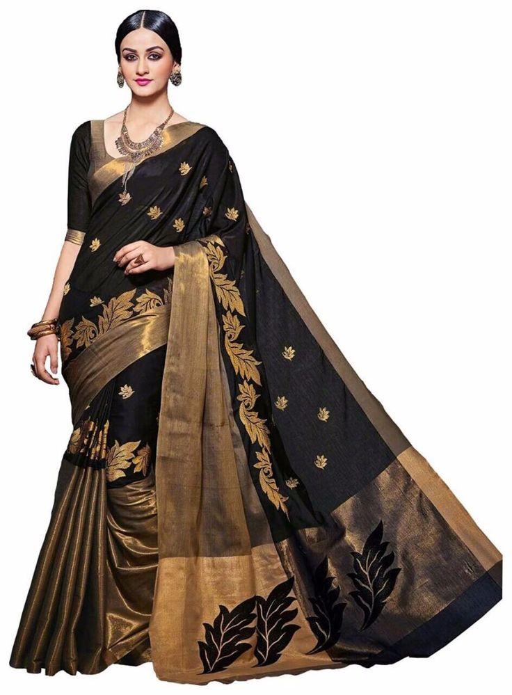 50 Mtr Length Of Saree, Fabrics-Banarasi Silk, Work-Jequird Silk Work, Multy Degine Saee, Attached Blouse