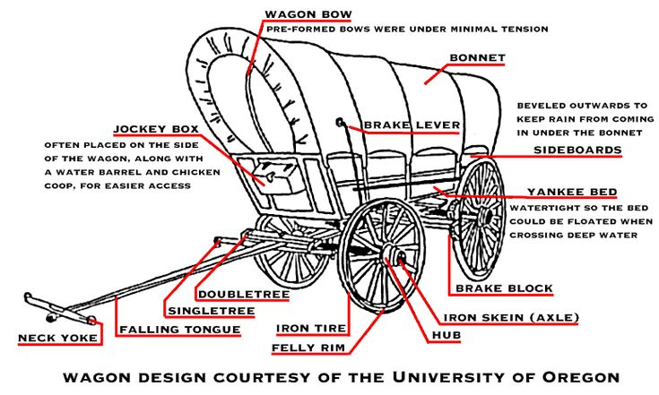 Oregon Trail - Wagon Characteristics