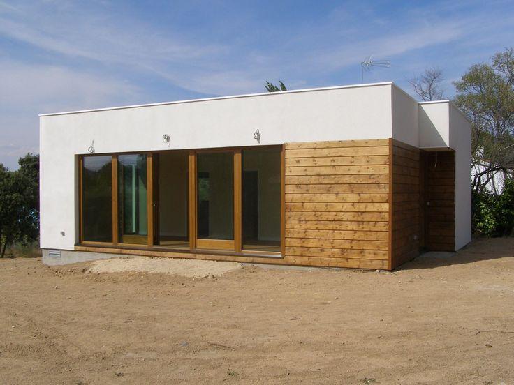 82 best images about casa de madera fachadas on pinterest - Casas de madera madrid ...