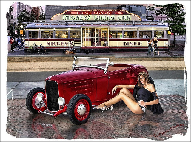 Meet Me At Mickey's .... by Rat Rod Studios, via Flickr