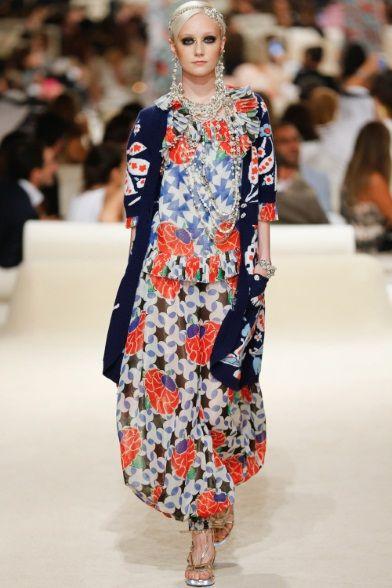 Sfilata Chanel Dubai - Pre-collezioni Primavera Estate 2015