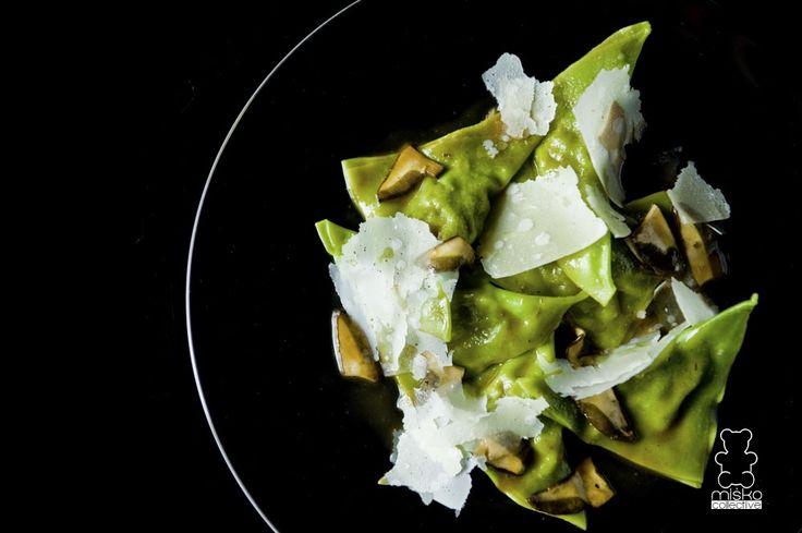green ravioli www.danielmisko.pl