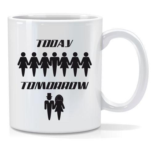 Tazza personalizzata Today tomorrow