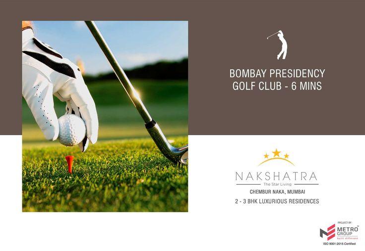 Nakshatra - The Star Living 2 & 3 BHK in the heart of Chembur Bombay Presidency Golf Club - 6 Mins www.metrogroupindia.com #Nakshatra #RealEstate #MetroGroup #Chembur #Mumbai