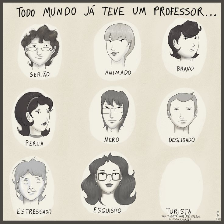 TIPOS DE PROFESSOR