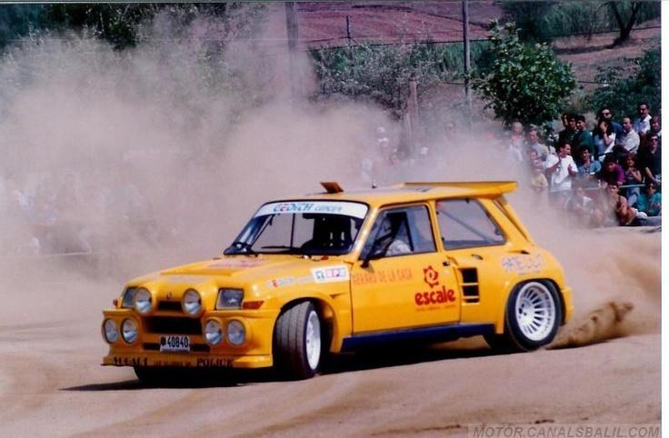 Gerard de la Casa (Gedith Andorra)-Rally del Bages 1993. Renault 5 Maxiturbo.