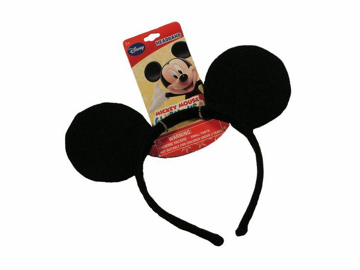 MICKEY MOUSE CLUBHOUSE Mouse Ears Headband NWT DISNEY #Disney