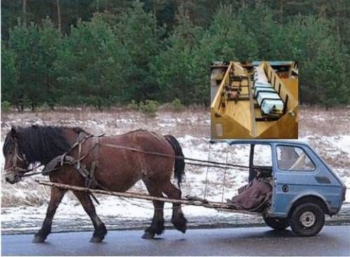 """All you can do with a Polish Fiat 126 (""""Maluch)."""