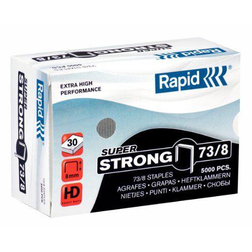 Rapid N°73/8 Boîte de 5000 Agrafes  http://123promos.fr/boutique/fournitures-de-bureau/rapid-n738-boite-de-5000-agrafes/