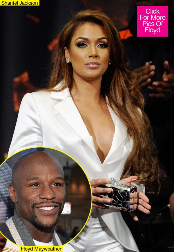 Chilli And Floyd Mayweather Engaged