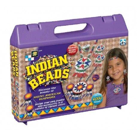 Odkryj piękno prawdziwych indiańskich ozdób z AmAv 2260 - Biżuteria Indiańska dla Dzieci od lat 6.    W zestawie nici, igłę, koraliki, filc (do wykonania rozet), sznurek nylonowy, akcesoria do biżuterii oraz instrukcje.   Wszystkie elementy zestawu zapakowane w walizkę.  Sprawdźcie sami:)  http://www.niczchin.pl/bizuteria-zrob-to-sam/2856-amav-2260-indianska-bizuteria.html  #amav #bizuteriadiy #indianskabizuteria #bizuteriadladzieci #zabawki #niczchin #krakow