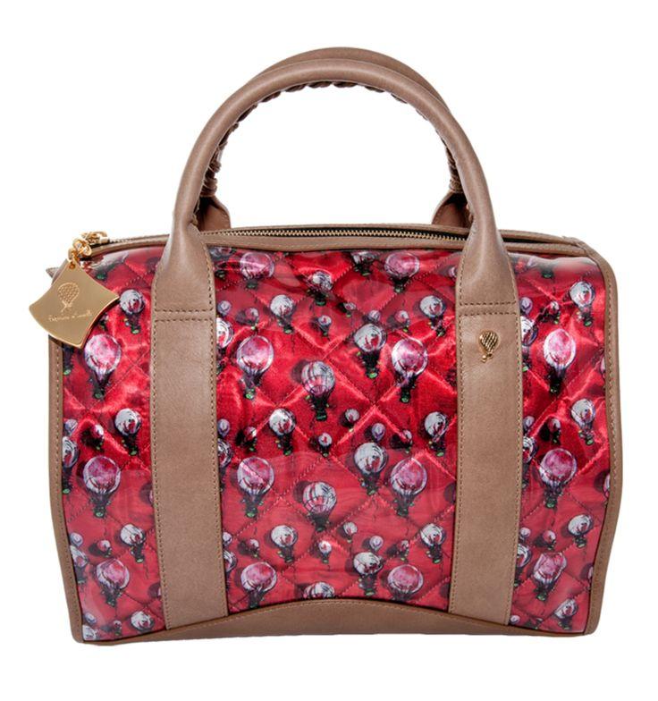 Crystal Bi-color Strawberry Sand http://federicalunello.com/it/collezioni/crystal-pe-2014/bauletto #federicalunello #bags #accessories #handmade #madeinitaly