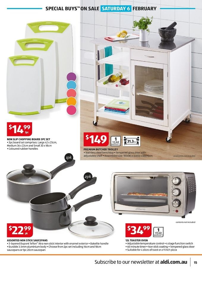 Wonderful Aldi Kitchen Appliances #10: ALDI Special Buys Week 5 2016 Has Been Published. It Contains Easter  Cookies, Bathroom Products, Sleepwear For Ladies, Kitchen Appliances.
