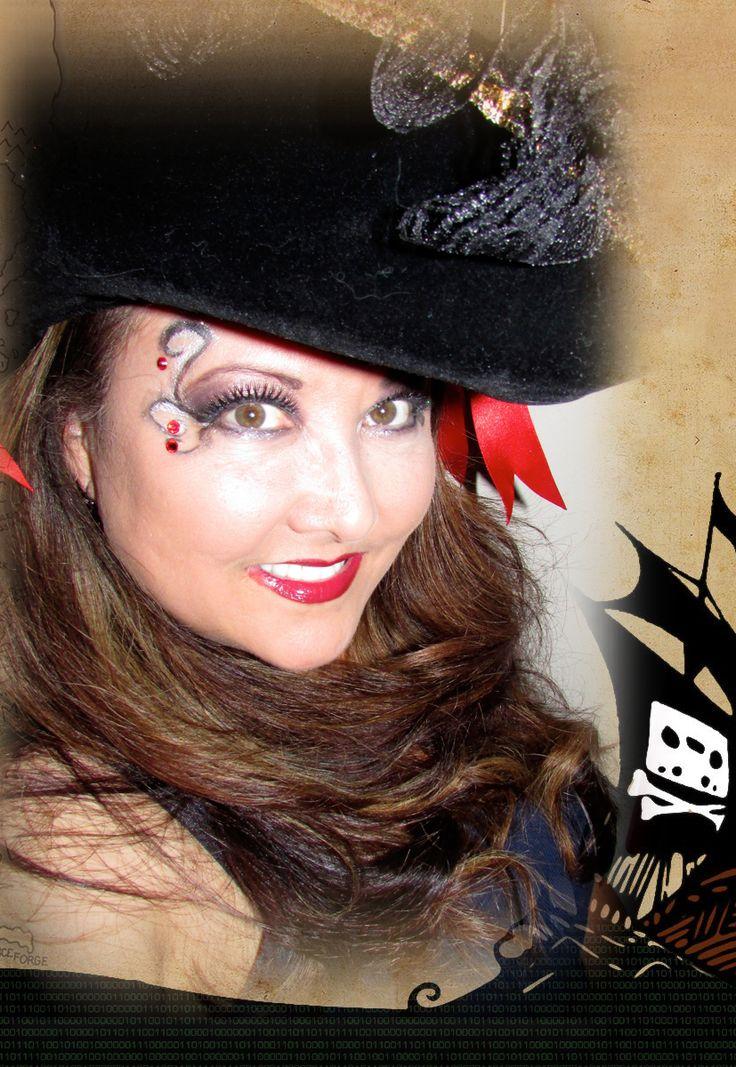 Halloween Pirate Makeup | DIY Costumes | Pinterest ...