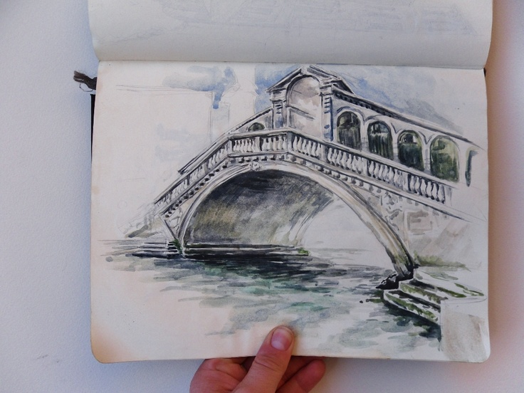 Europe sketchbook , Italy Sketchbook, Artist Study Chelsea Ward Fine Art Architectural Painting, Resources for Art Students, CAPI ::: Create Art Portfolio Ideas at milliande.com , Inspiration for Art School Portfolio Work, How to Paint Buildings and Architecture, house, building,structure, drawing,sketching, exterior, interior, design