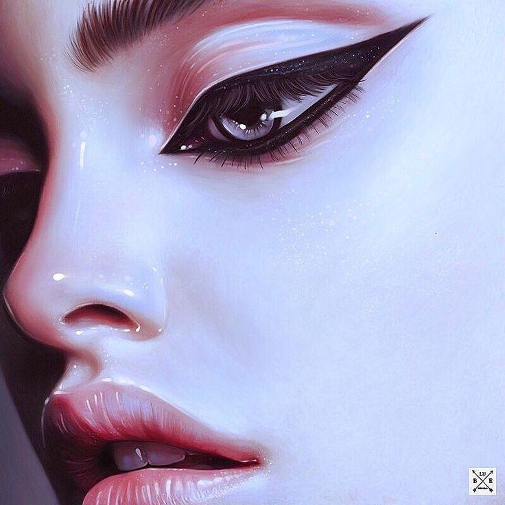 portrait on ipad, Julia Razumova on ArtStation at https://www.artstation.com/artwork/neZnE