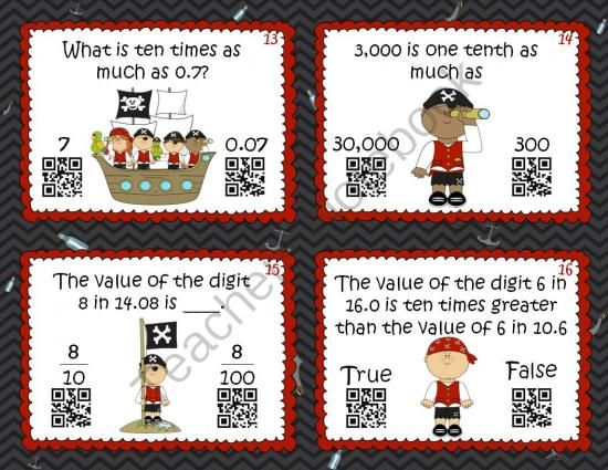 32 best 4nbt1 place value images on pinterest teaching math place value patterns qr code frenzy fandeluxe Gallery