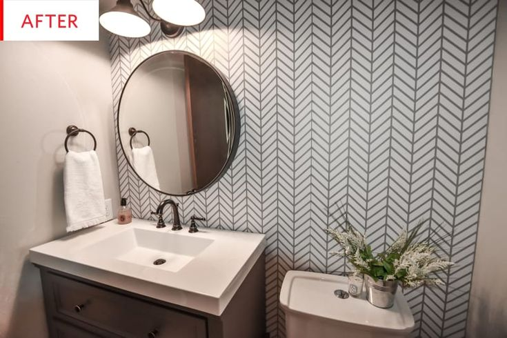 Before and After: An Amazing New Bathroom for Only $1,000 ...
