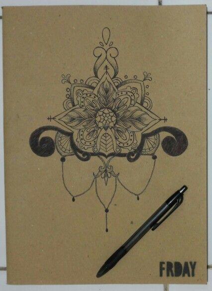 Mandala illustration | free hand | pointilism |  Follow my IG: @hollananda
