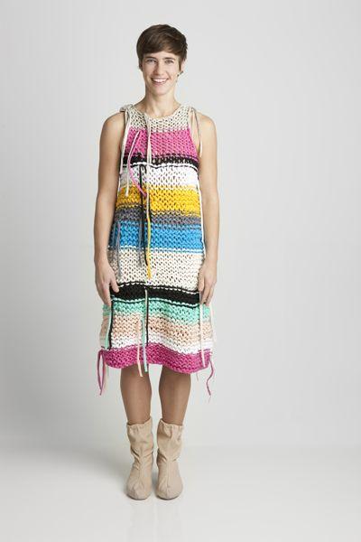 Rag dress by Onni