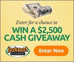 How do I enter for a chance to win jackpot giveaway? click here to enter enter your email address check your email for confirmation Facebook Twitter Pinterest Email Love This WhatsApp SMS Facebook Messenger