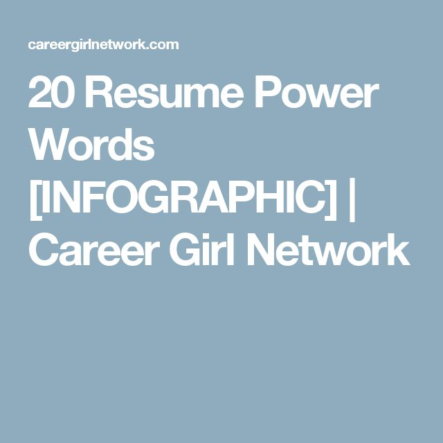 The 25+ best Resume power words ideas on Pinterest Cv format for - power words resume
